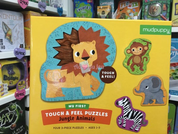 Puzzle Touch & Feel - Animaux BERTOY