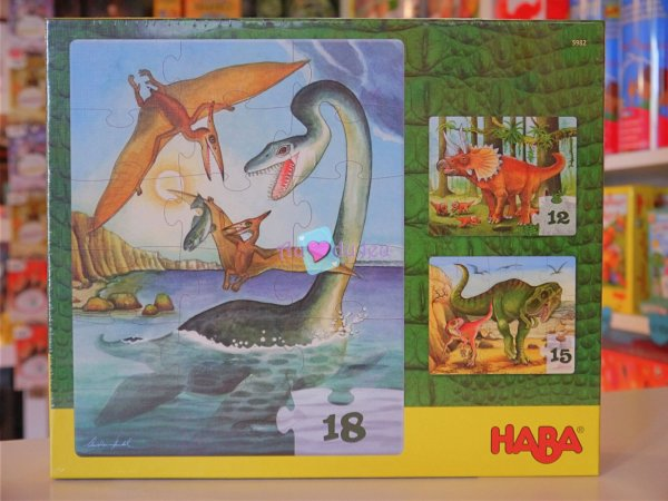Puzzles Dinosaures Haba