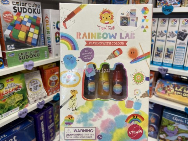 Rainbow Lab - Playing With Colour Tiger Tribe