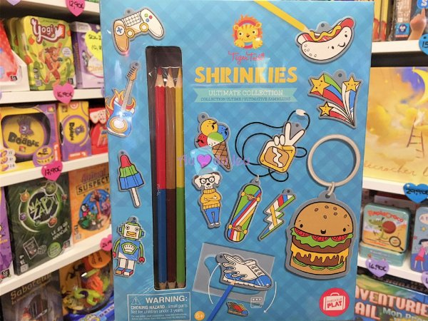 Shrinkies - Coffret Plastique Dingue Bleu BERTOY