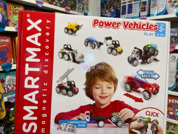 Smartmax - Power Vehicules Smart Games