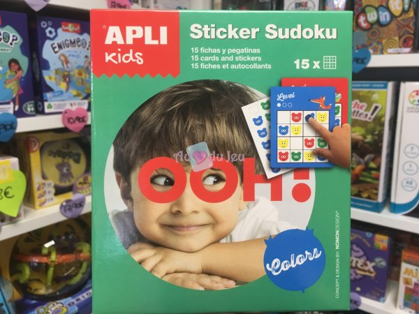 Stickers Sudoku APLI Kids