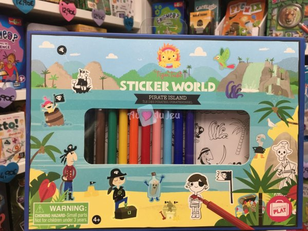 Stickers World - Pirates BERTOY