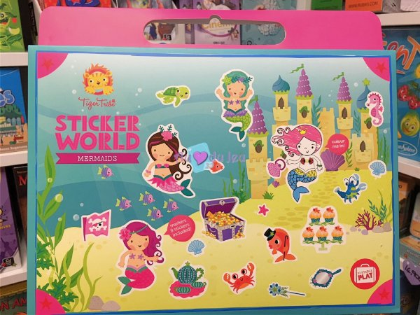 Mallette Stickers World - Sirènes BERTOY