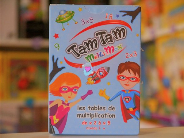 Tam Tam Multimax Niveau 1 Blackrock Editions