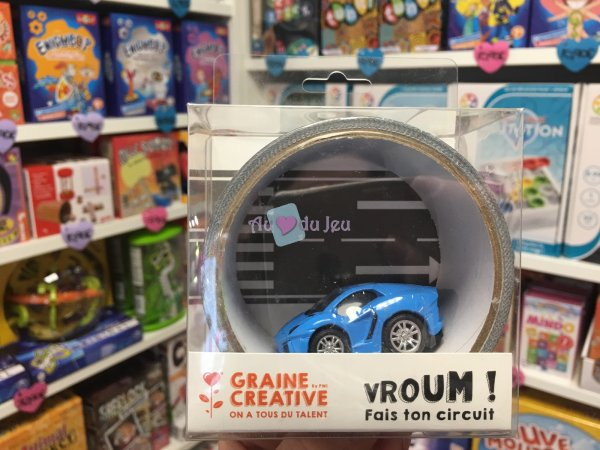 Tape Route 5m & Voiture Friction Graine Creative