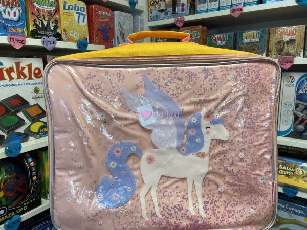 Valise Paillettes - Licorne A Little Lovely Company