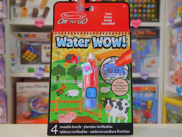 Water Wow La Ferme Melissa & Doug