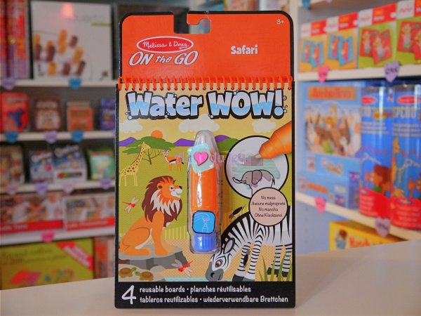 Water Wow Safari (colorier avec de l'eau) Melissa & Doug
